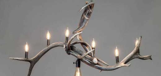 Interior Design Deer Antlers Best Of Bridal Veil Falls Modern Elk Antler Chandelier Medium