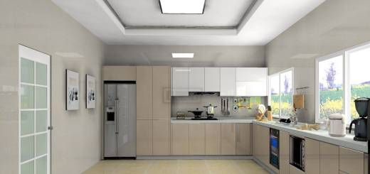 L Shaped Kitchen Cabinets Fresh Modern Cabinet Designs Pure Color the L Shape Kitchen