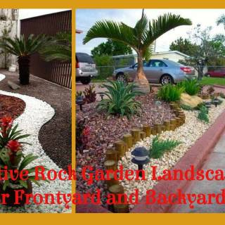 Landscaping Ideas Awesome 35 Creative Rock Garden Landscaping Ideas for Frontyard and