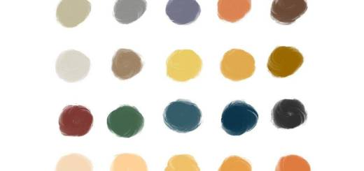 Mood Colors Elegant Florence Procreate Color Palette