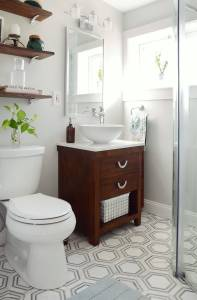 Pictures Of Small Bathrooms Awesome E Room Challenge Small Bathroom Makeover Reveal