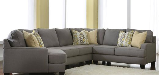 Sectional sofas Elegant Chamberly Alloy Modern 4 Piece Sectional sofa with Left