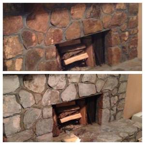 Stone Fireplace Designs Luxury Diy Painted Rock Fireplace I Updated Our Rock Fireplace