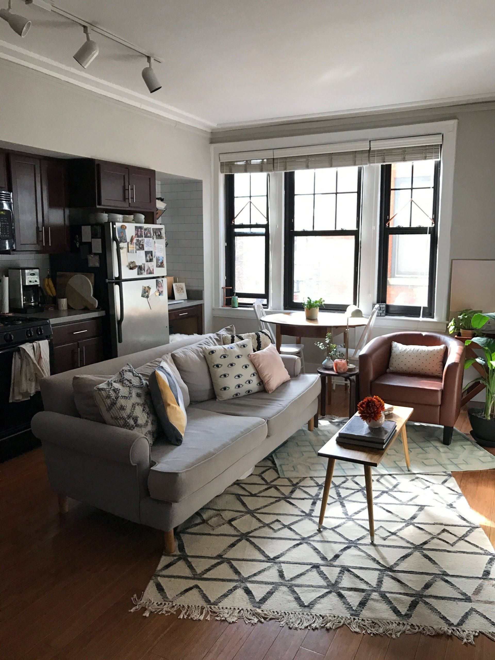 Studio Apartment Designs New A Smart Layout Makes This Studio Feel Big and Bright