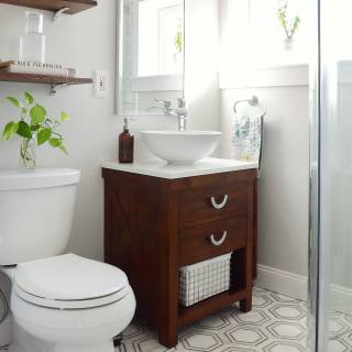 Tiny Bathrooms Best Of E Room Challenge Small Bathroom Makeover Reveal