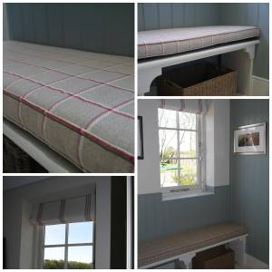 Window Seat Best Of Boot Room Window Seat Bench Cushion In Ian Mankin Fabrics