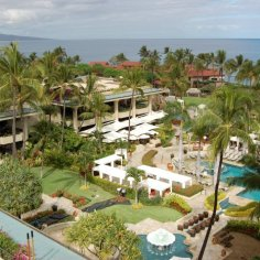 View from Prime Ocean View Room