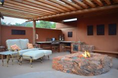 Patio Fireplace