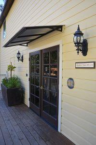 Side Entrance to Restaurant