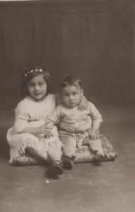 Noor and Vilayat, Summer 1917, London, UK