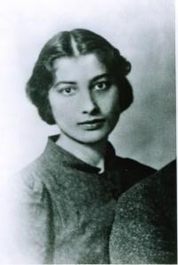 Noor Inayat Khan, 1938.