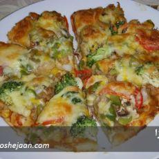 pizza پیتزا ایرانی