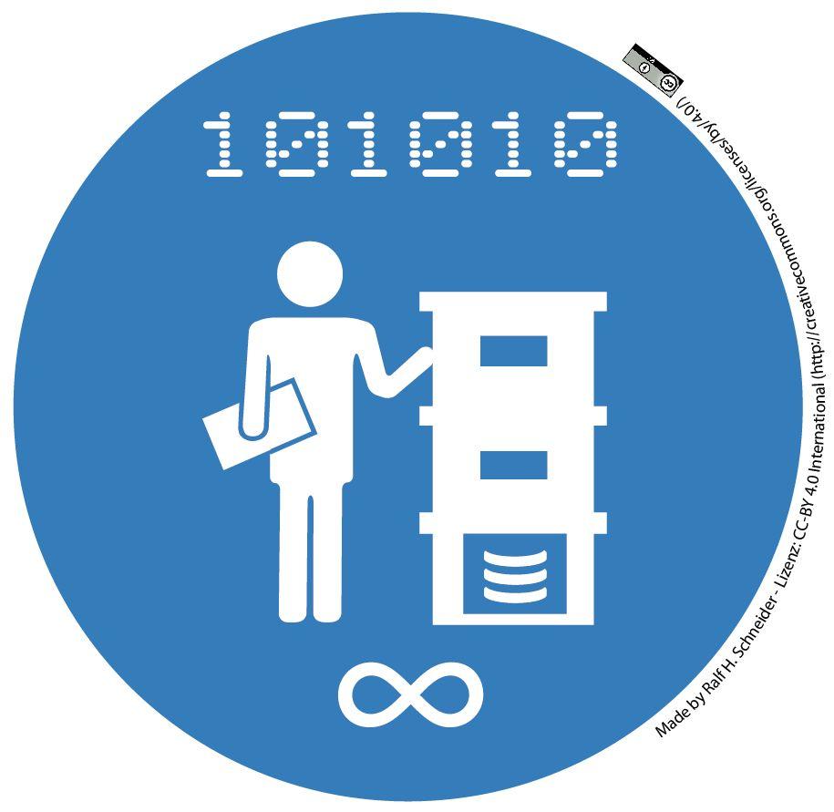 Digitale Langzeitarchivierung - Logo