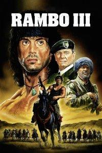 "Plakat von ""Rambo III"""