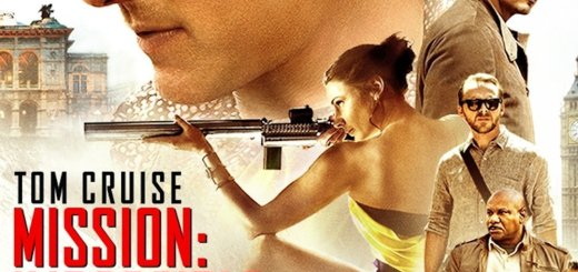 "Plakat von ""Mission: Impossible - Rogue Nation"""