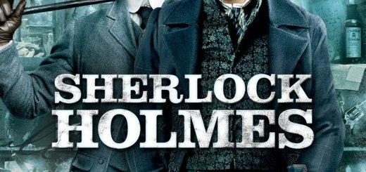 """Plakat von """"Sherlock Holmes"""""""
