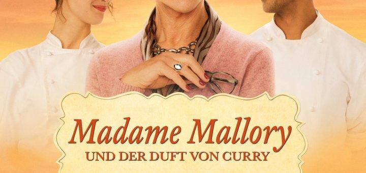 """Plakat von """"Madame Mallory und der Duft von Curry"""""""