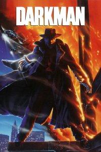 """Plakat von """"Darkman – Der Mann mit der Gesichtsmaske"""""""