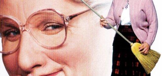 """Plakat von """"Mrs. Doubtfire - Das stachelige Hausmädchen"""""""