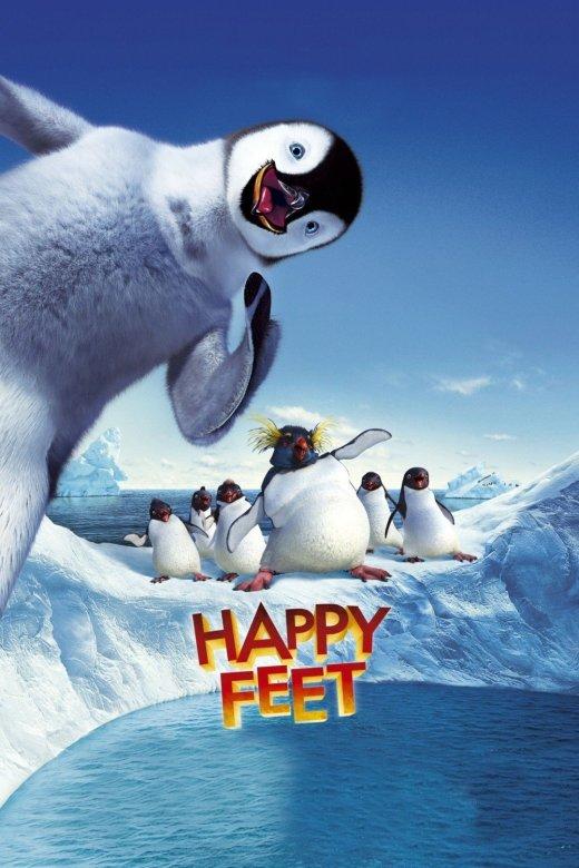 """Plakat von """"Happy Feet"""""""