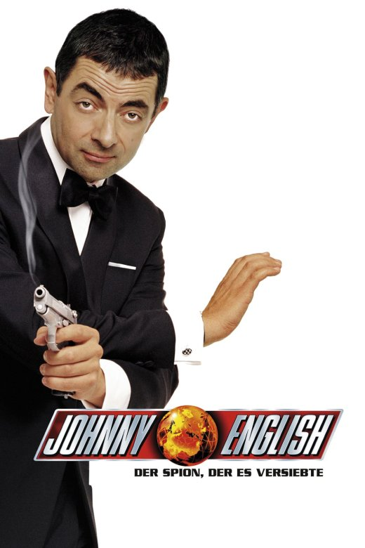 "Plakat von ""Johnny English - Der Spion, der es versiebte"""
