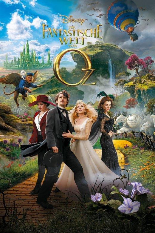 """Plakat von """"Die fantastische Welt von Oz"""""""