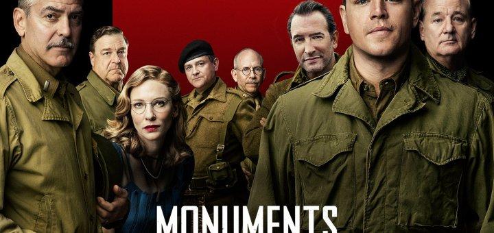 """Plakat von """"Monuments Men - Ungewöhnliche Helden"""""""