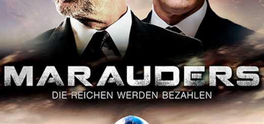 """Plakat von """"Marauders - Die Reichen werden bezahlen"""""""