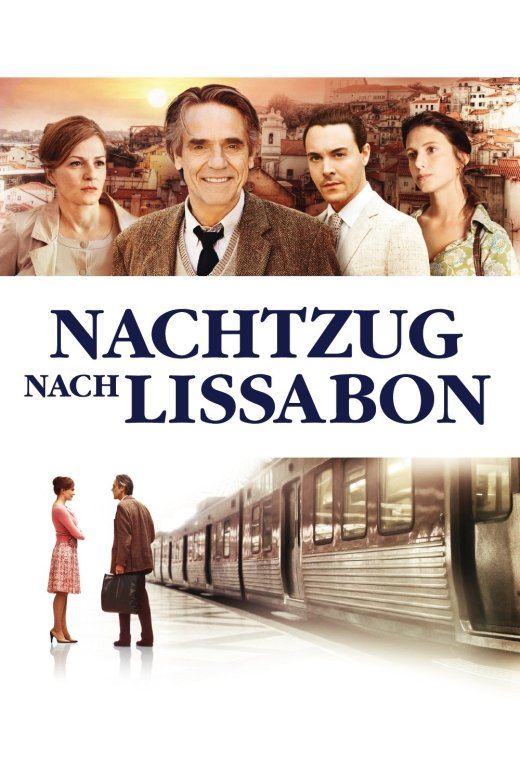 """Plakat von """"Nachtzug nach Lissabon"""""""