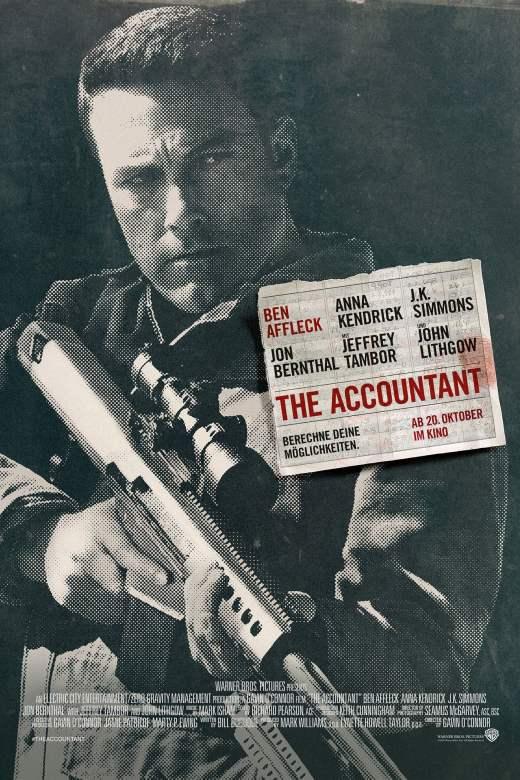 "Plakat von ""The Accountant"""