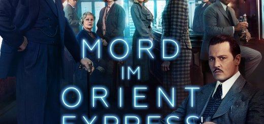 """Plakat von """"Mord im Orient-Express"""""""