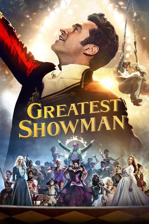 """Plakat von """"Greatest Showman"""""""