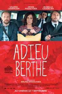 """Plakat von """"Adieu Berthe - Omas Vermächtnis"""""""