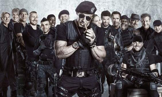 """Plakat von """"The Expendables 3"""""""