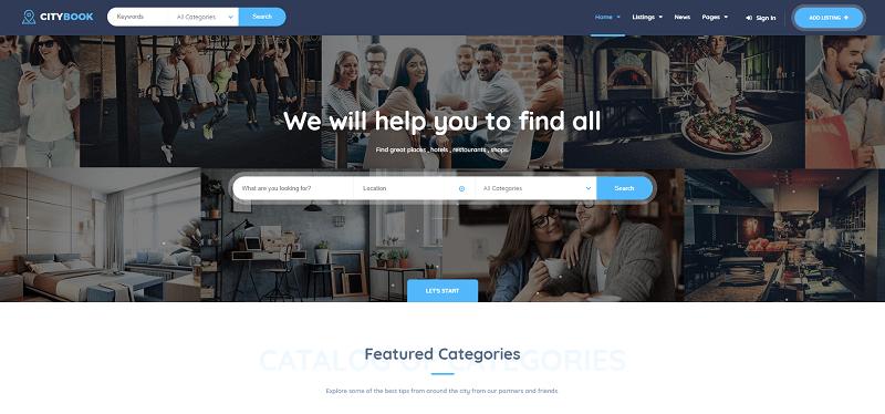 Directory & Listing WordPress Theme