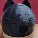 Sleeping Cat Birds House 3D Print