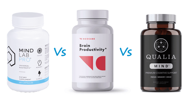 NooCube vs Qualia Mind vs Mind Lab Pro