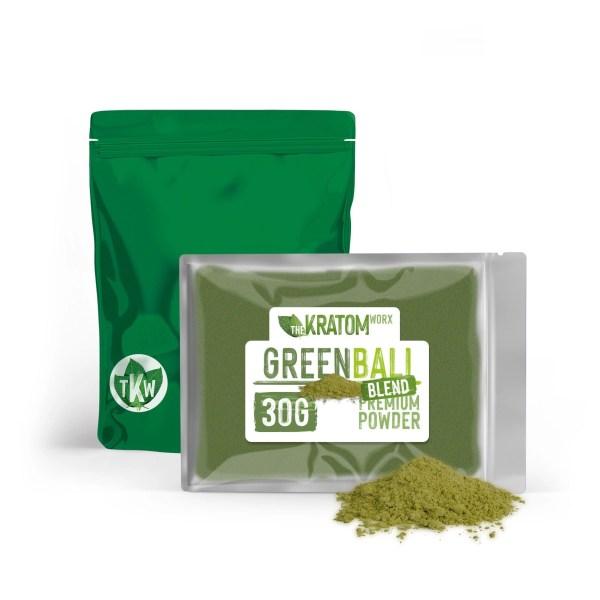 Kratom Green Bali Blend Powder 30g