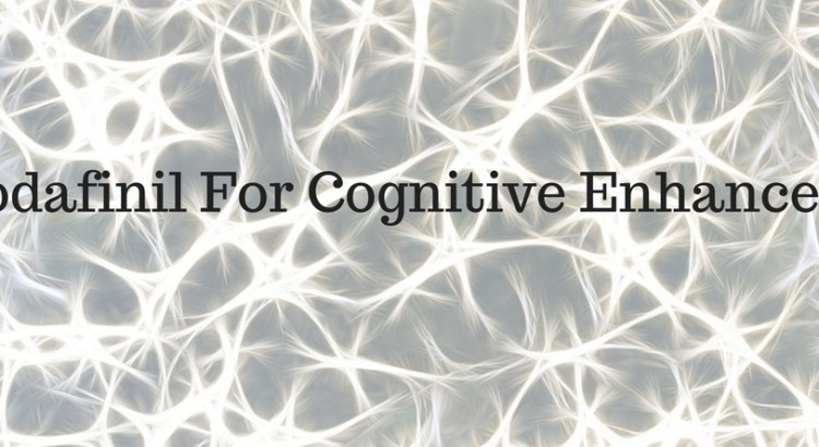 armodafinil for cognitive enhancement