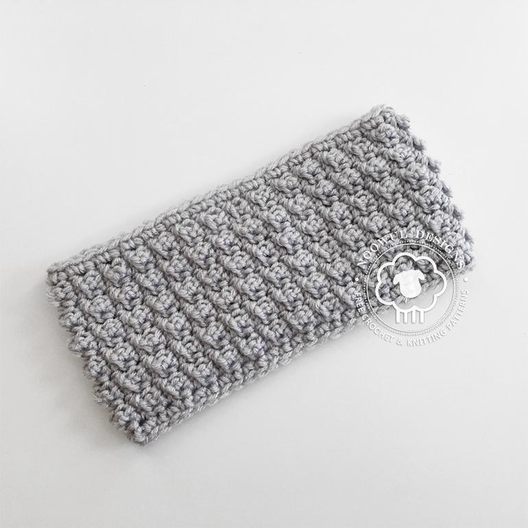 Poppi Headband A Free Crochet Pattern Noowul Designs