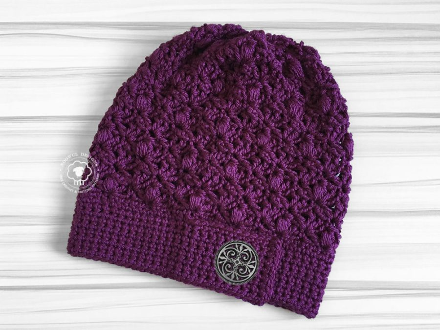 Free Crochet Pattern | Sephine Slouch Hat on Noowul