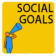 Social media strategy and goal-setting.