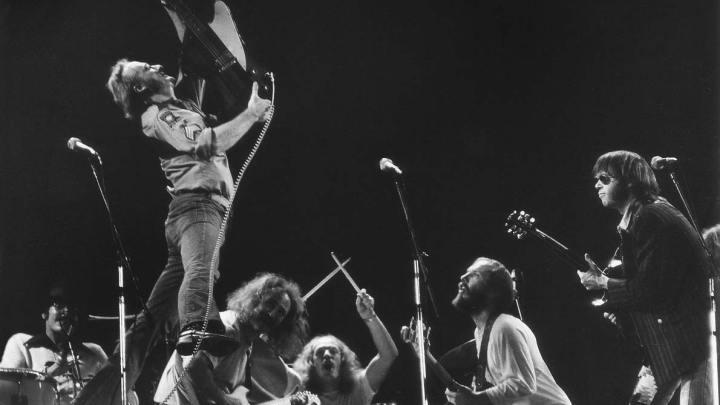 Crosby Stills Nash and Young 1974 Van Miles