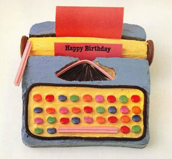 Australian Womens Weekly Childrens Birthday Cake Book Typewriter