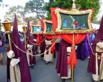 Lenten procession - Antigua