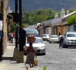 Mayan woman-Folk ways survive - Antigua