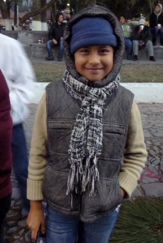 a smiling student from where we taught - Antigua,Guatemala