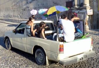 end of a festival - Antigua,Guatemala