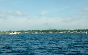Shoreline of Utila