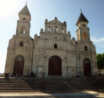 Iglesia Guadelupe - originally built as a fort - Granada